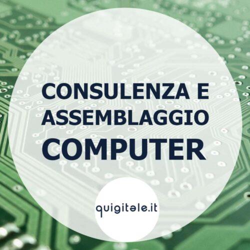 consulenza e assemblaggio computer